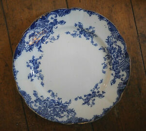 OBAN Blue & White Antique Dinner Plate OLD several available