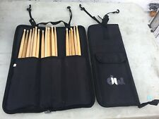 DW Zippered Padded folding Drum Stick Bag w/ hang straps