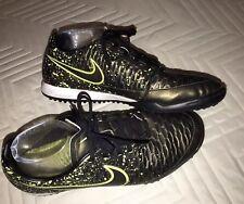 Nike Magista Onda TF Indoor Soccer Shoes Sz 9 US.Dark Citron & Black  651549-370