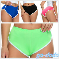 Women Booty Sports Yoga Shorts Fitness Running Workout Hot Pants Gym Summer XXL