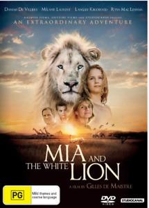 Mia and the white lion (Australian stock)