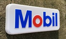 MOBIL LED LIGHT BOX ADVERTISING WALL SIGN GARAGE PETROL GASOLINE CAR GAS OIL