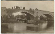 More details for finavon bridge steam roller disaster - forfar angus postcard (p1336)