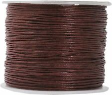 0.5mm Jewelry Making Beading Macramé Waxed Cotton Cord Thread 109 Yard Crafts