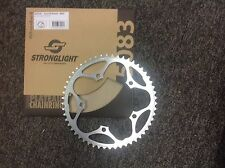 Stronglight 52Tooth  chain ring 135 BCD Silver Campagnolo