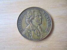 1859 Germany Friedrich Schiller Centennial Of Birth Medal