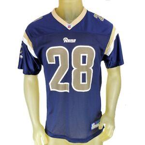 Saint St Louis Rams Jersey Marshall Faulk Football NFL Kids XL (18-20) Reebok A2