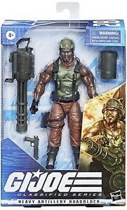 Mint! G.I. Joe Classified Heavy Artillery Roadblock Amazon September PreOrder!