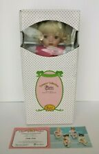 NEW PARADISE GALLERIES ROSE KISS PORCELAIN DOLL COA #37 KATHY SMITH FITZPATRICK