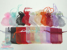 12/25/50pcs Hold Apple Size 16(L)x14(W)x4cm(D) Organza Jewelry Pouch Wedding Bag