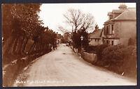 Walk & High Street Wadhurst East Sussex TN5 Real Photo Postcard Road RPPC Used