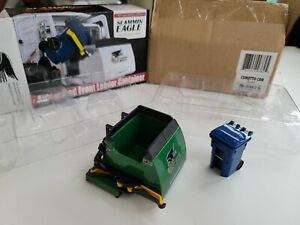 First Gear Green 1/34 Scale Automated Front Load Curotto Can Slamming Eagle