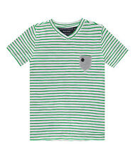 Marc O`Polo T-Shirt 1/4 Arm Grün Gestreift 1733431/171