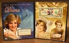 PRINCESS DIANA * 50th Birthday * U.S. $2 Bill with FREE BONUS 24K Gold JFK Coin