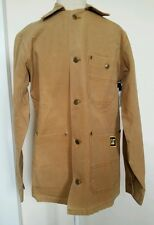 CAT Caterpillar Duck Work Coat Small Tan Carmel  New with tags construction