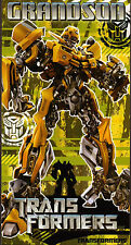 Transformers Autobots Bumblebee Grandson Birthday card b/n