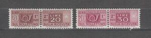 s37783 ITALIA MNH**1972 Pacchi Postali L.20 L.30 2v