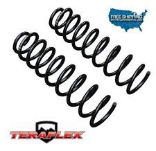 "TeraFlex TJ 4"" Lift Front Coil Springs Pair for 1997-2006 Jeep Wrangler TJ / LJ"