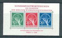 Luxus Berlin Währungsgeschädigten Block 1 ** - geprüft D Schlegel BPP - Mi 950,-
