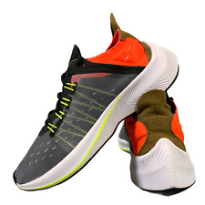 Nike EXP-X14 Women's Shoes Size Uk 3 Grey Orange Gym Running Trainers EUR 35.5