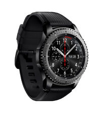 Genuine Samsung Gear S3 46mm Frontier Smartwatch - Black (Australian Stock)