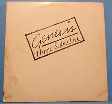 GENESIS THREE SIDES LIVE 2X LP 1982 ORIGINAL PRESS GREAT CONDITION! VG+/VG!!
