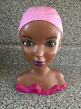 Black African American Doll Mannequin Head Fashion