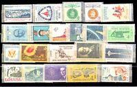 Stati Uniti (USA) - Lotto da 55  Francobolli (Stamps) Nuovi  perfetti