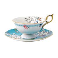 NEW Wedgwood Wonderlust Apple Blossom Teacup & Saucer