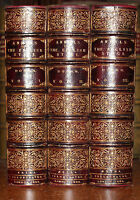 1888 Annals of the English Stage DORAN Fine Binding TOUT 3 Vol Extra Illustrated