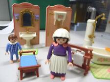 Playmobil ★ Nostalgie-Puppenhaus ★ BADEZIMMER ★ Wanne ★ Figuren ★ WC ★ Zubehör