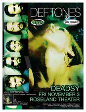 DEFTONES 2006 Gig POSTER Portland Oregon Concert