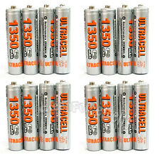 16 pcs AAA LR03 R03 1350mAh 1.2V Ni-MH Rechargeable Battery UltraCell US Stock