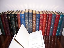 Easton Press MASTERPIECES OF SCIENCE FICTION 39 vols (1 signed) -Like New