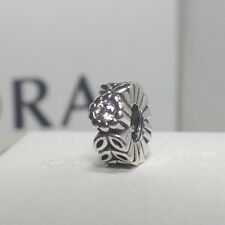 AUTHENTIC PANDORA CHARM TWICE AS NICE CLEAR SPACER 791224CZ