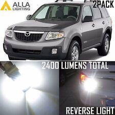 Alla Lighting 6000K 39-LED Back-Up Reverse Light 7440 White Backup Bulb forMazda