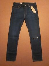 MENS LEVIS JEANS 510 SKINNY FIT STRETCH DENIM BLUE JEAN PANTS SIZE 33 X 32 NWT