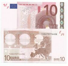 BANCONOTA BILLET DA 10 EURO FIRMA TRICHET T IRLANDA K007..  UNC