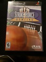 PS2 Strike Force Bowling (Sony PlayStation 2, 2004) Complete Tested (CB215)