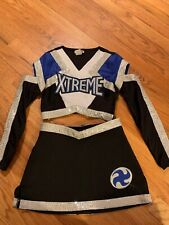 Authentic Cheerleading Costume Size Youth Xl great for Halloween or Dress-up