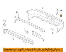 ACURA HONDA OEM Rear Bumper-Bumper Cover Clip 91503SP0003