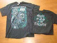 MACHINE HEAD GOLIATH HOIST THE  RARE/OOP  LIC. 2012 DEADSTOCK shirT SZ LG