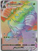 Pokemon - Rebel and Clash - RILLABOOM VMAX 193/192 - Secret Rare - NM/M