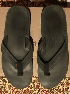 Rainbow Sandals Black