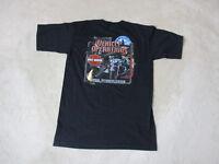 Harley Davidson Shirt Adult Medium Black York Pennsylvania Motorcycle Biker Mens