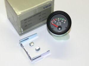 VDO Zusatzinstrument 52mm Voltmeter  NEU