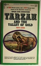 TARZAN AND THE VALLEY OF GOLD by Fritz Leiber (1966) Ballantine pb 1st