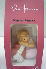 """Goebel Nina & Marco Figur """" Von Herzen """" Neu u OVP Geschenkverpackung"""