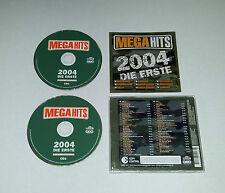 2CDs  Megahits 2004 - Die Erste  Sugababes Scooter  41.Tracks  2003  03/16