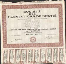 Société des Plantations de KRATIE (INDOCHINE) (U)